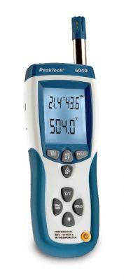IR-Temp.-Luftfeuchtigkeitsmessgerät mit USB, 5040