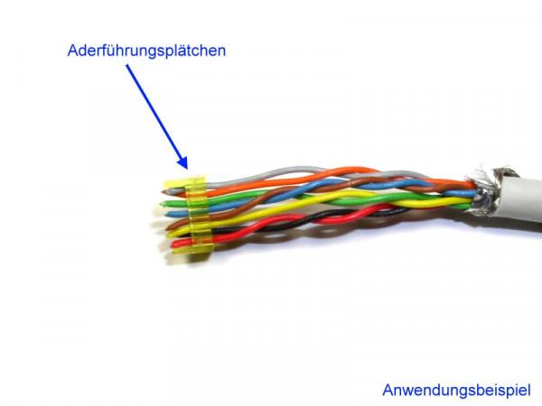 Guide Plate Aderführungsplätchen für Modularstecker TM31