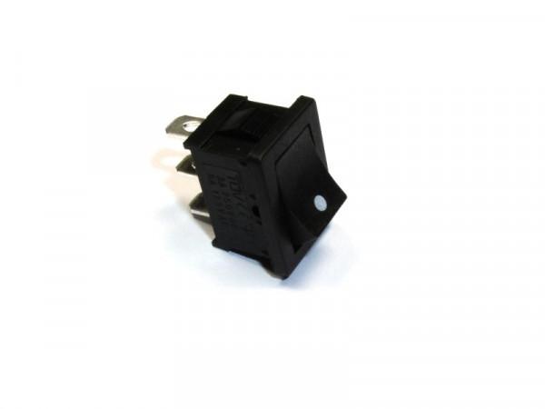 Mini-Wippentaster einpolig 250V AC 3A