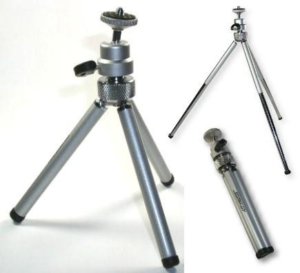 Kamera Mini Teleskop Stativ bis 230mm ausziehbar