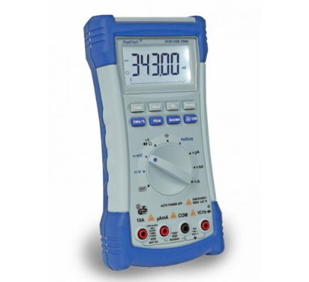 Digital Multimeter 4 1/2-stellig mit USB und True-RMS 3430