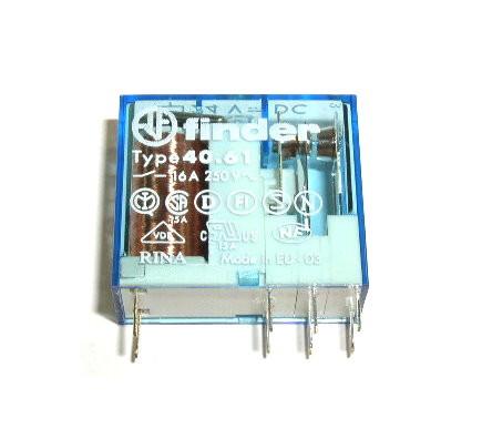 Relais 4061 12V DC 1xUM 16A 250VAC 40.61.9.012.0000