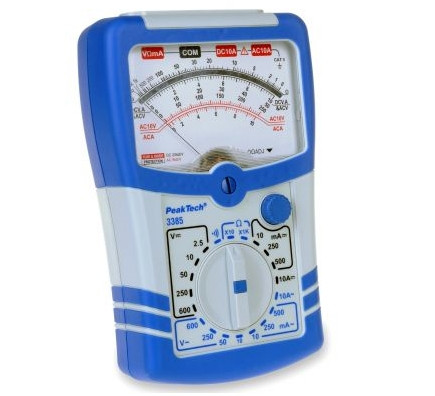 Analog Multimeter 10 A AC/DC, 3385