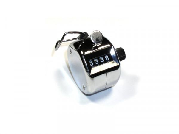 Mechanischer Handzähler 0-9999 Rückstellung durch drehen