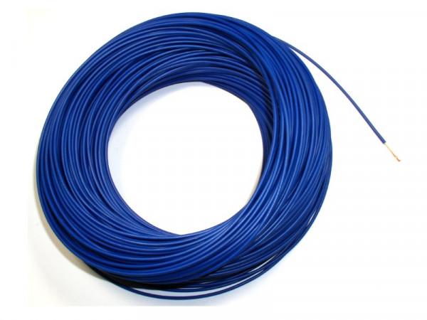 Aderleitung H05Z-K 1 x 0.50mm² Dunkelblau Halogenfrei 100Meter