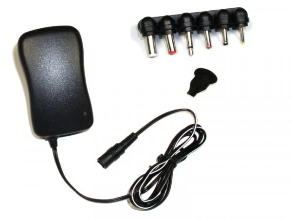 Universal-Schaltnetzteil mit USB , 3/4,5/5/6/7,5/9/12 VDC