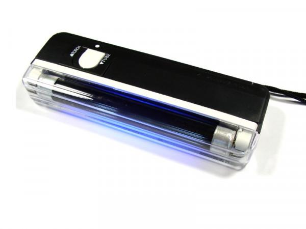 Geldscheinprüfer Handlampe mit UV Röhre