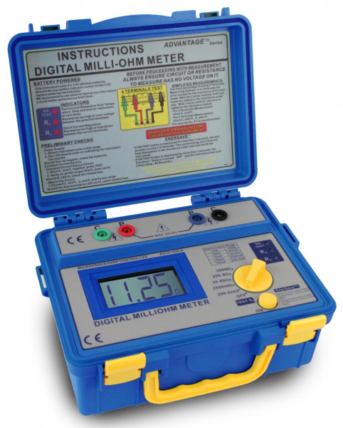Digital-Milliohmmeter 0 - 2000 Ohm, 1125