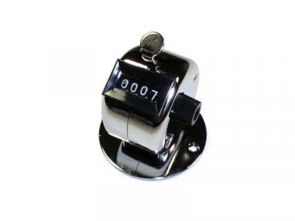Mechanischer Handzähler mit Sockel 0-9999 Rückstellung durch drehen