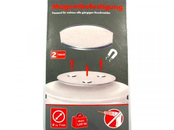 Magnetbefestigung für Rauchmelder