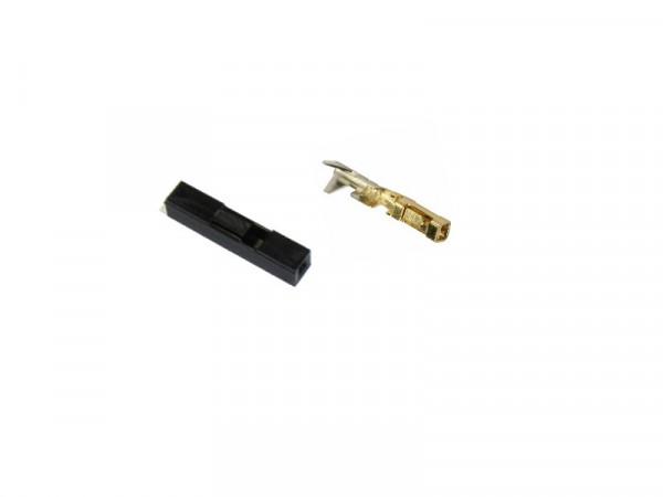 Gehäuse für Stiftleisten 1Reihig mit Crimpkontakt CKA Rastermaß 2,54 mm