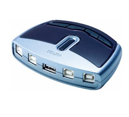 ATEN USB 2.0 Switch, 4 Port US421A