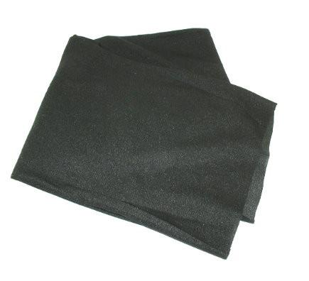Lautsprecher Bespannstoff schwarz 150x75cm 100% Polyester