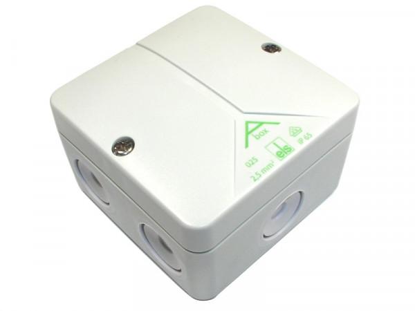 Verbindungsdose Abox 025-L, 80x80x52mm