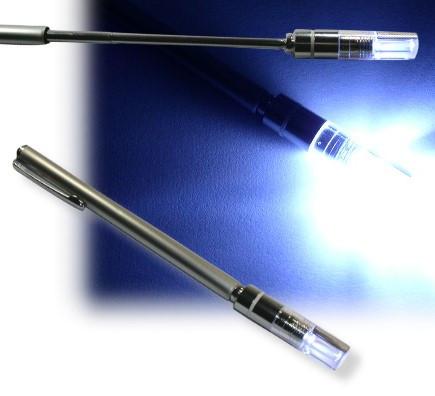 Teleskoplampe Finder, ausziehbar 17 - 66 cm, Magnet