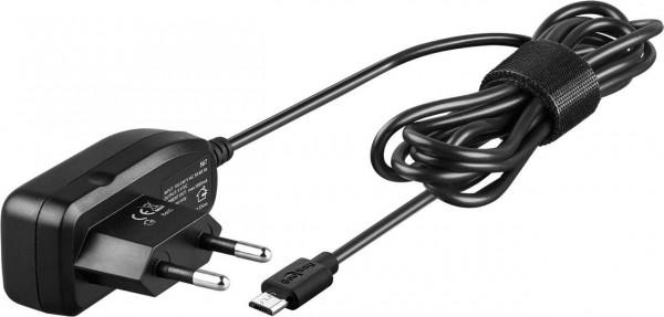 Micro USB Ladegerät 1 A Ersatz-Netzteil für viele Kleingeräte und Handys