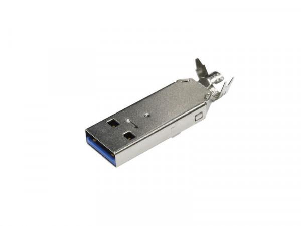 USB-3.0 A Kabelstecker Lötanschluss