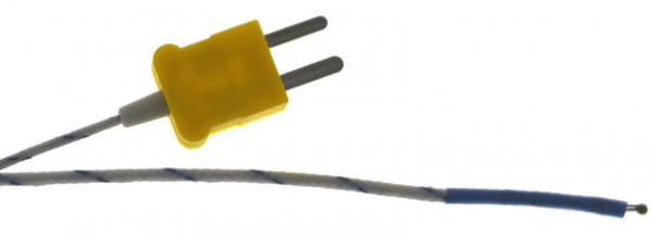 Messperle -40 bis +204 Grad C Kabellänge 2m, TF-50