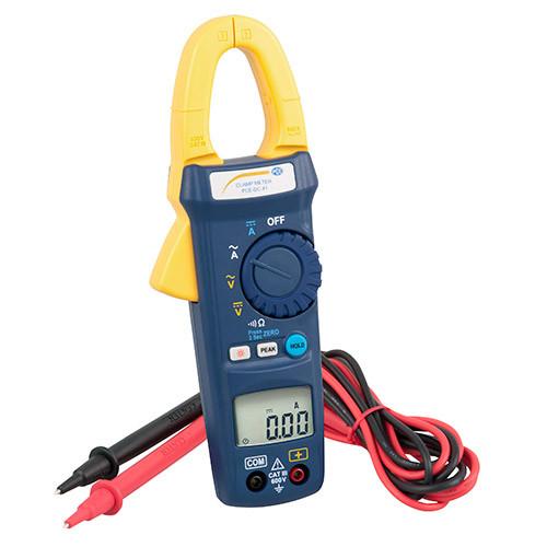 Stromzange und Digitalmultimeter DC41