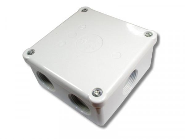 Abzweigdose 507 92x92x45mm leer M25 Farbe grau IP54 2,5mm² 400V