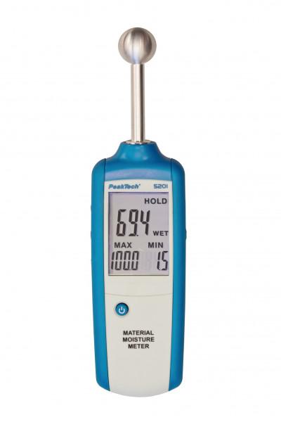 Materialfeuchtemessgerät Beschädigungsfreie Kontaktmessung, 5201