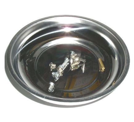 Magnethaftschale Magnetteller Magnetschale rund 15cm Inox