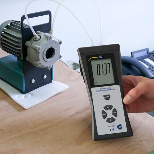 Druckmessgerät PCE-P01 Differenzdruck-140 bis +140 mbar