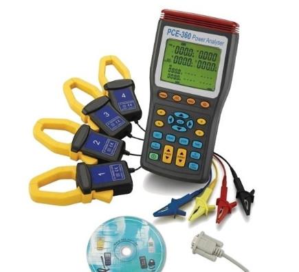 Leistungsmesser, Stromzangen, Energiemessgerät 360