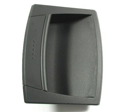 Griffschale schwarz 120mm keine scharfen Kanten Kunststoff, GN 731
