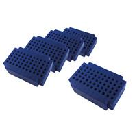 Micro-Laborsteckboards 55 Kontakte 5er Pack