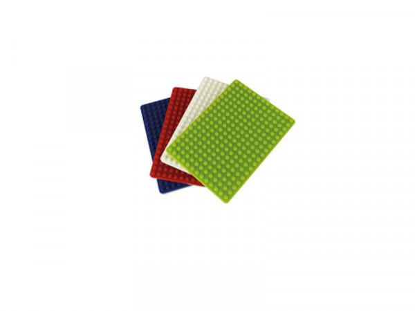 Montageplatte zu Micro-Laborsteckboards klein 4 Stück