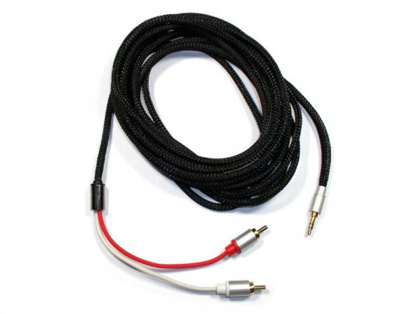 Stereo Audiokabel 5m 3,5mm Klinke auf Cinch (Stecker - Stecker)