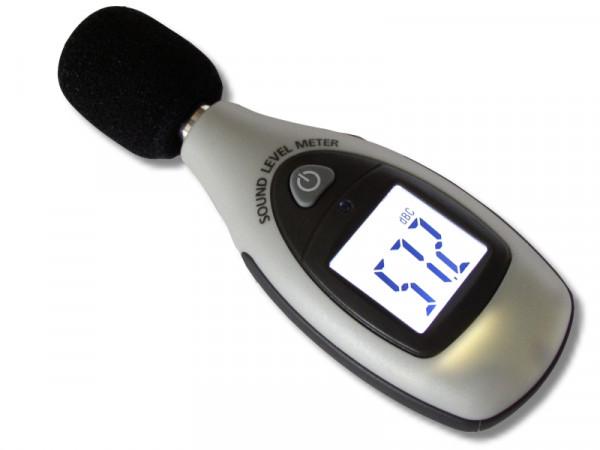 Mini-Schallpegel-Messgerät Charakteristik C (lineare Hörkurve)