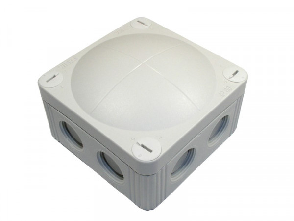 FR-Kabelabzweigkasten Dose RAL7035, IP66, 85x85x51mm, HFRAK040