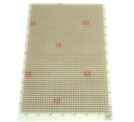 Laborkarte Platine Epoxyd 160x100mm Streifenraster 730EP