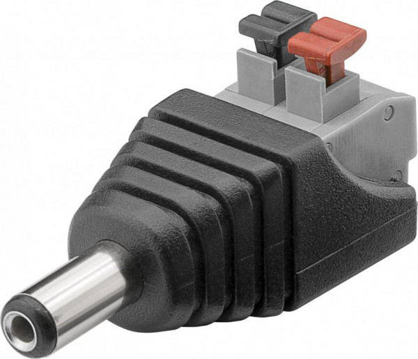 Terminal Block 2-pin auf DC-Stecker (5,50 x 2,10 mm)